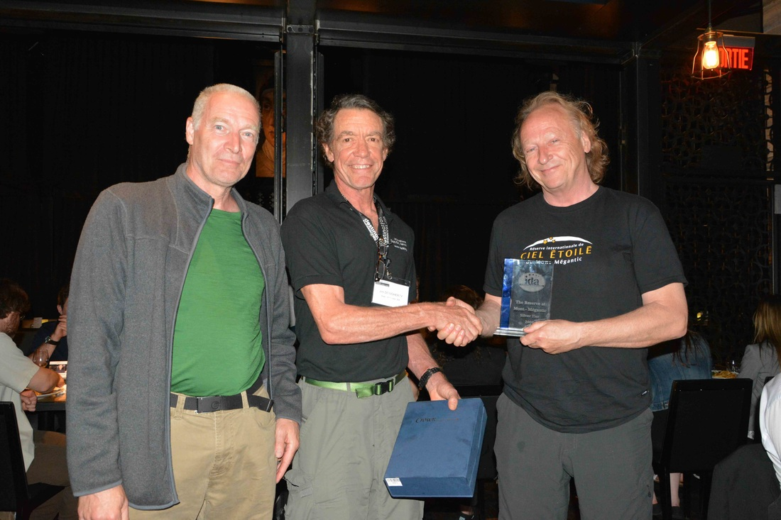 alan archives alan  mr pierre goulet director of mont meacutegantic national park 2000 2015 mr jim dougerthy president of international dark sky association mr bernard